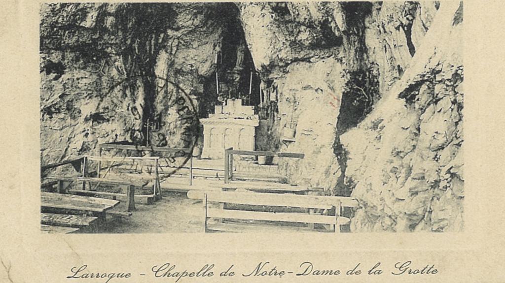 Un patrimoine caché: la chapelle/oratoire de Notre Dame de Larroque